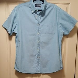 Chambrey button down shirt.